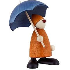 Gratulant Charlie gelb mit Schirm