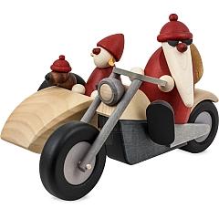 Familienausfahrt auf Motorrad