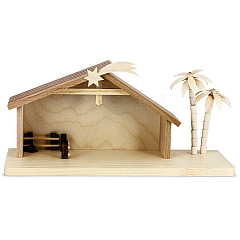 Krippenhaus für 7 cm Figuren