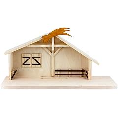 Krippenhaus für 13 cm Figuren