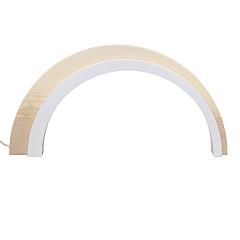 Holz Design LED Bogen natur