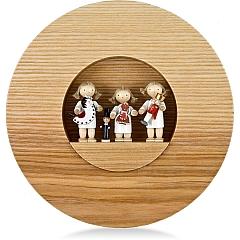 Flade Figurenbild Drei Engelkinder