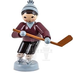 Eishockeyspieler kurfend lila von Ulmik