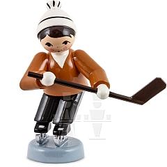 Eishockeyspieler kurfend braun von Ulmik