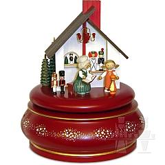 Spieldose Advent im Erzgebirge