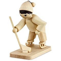 Eishockeyspieler Torwart natur