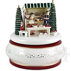 Spieldose Weihnachtsmarkt