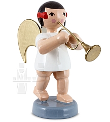 Schleifenengel mit Trompete 6 cm