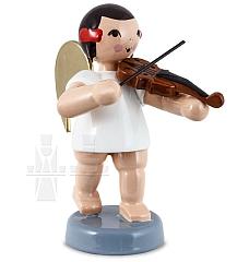 Schleifenengel mit Geige 6 cm