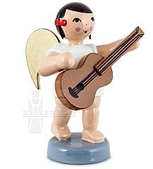 Schleifenengel mit Gitarre 6 cm
