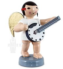 Schleifenengel mit Banjo 6 cm