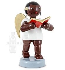 Afrikaner Engel mit Buch 6 cm