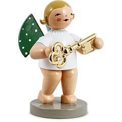 Schatzmeister Engel mit Schlüssel vergoldet Goldedition Nr. 8