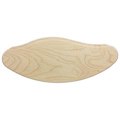 Vorleger für Holz Design LED Bogen natur 57 cm breit