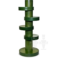 Leuchterstele 34 cm grün
