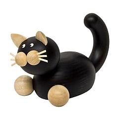 Katze Hilde auf der Lauer
