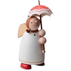 Schutzengel Größe 3 mit Schirm beige