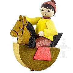 Reiterlein Junge gebeizt von Ulmik