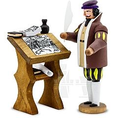Georgius Agricola am Schreibpult