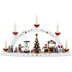 Schwibbogen Erzgebirgische Weihnacht limitierte Edition