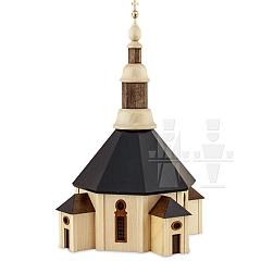 Kirche gebeizt