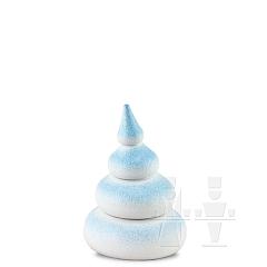 Baum weiß-schneeblau • 4 - stufig