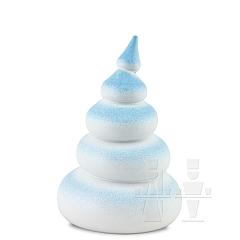 Baum weiß-schneeblau • 5 - stufig