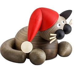 Weihnachtskatze Schmuse Karli groß