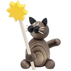 Katze Karl mit Stern