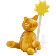 Katze Emmi mit Stern
