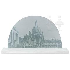 Großer Bogen mit historischem Motiv Dresden