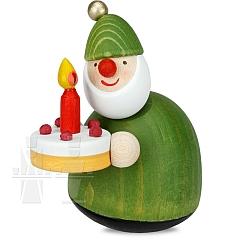 Picus mit Torte