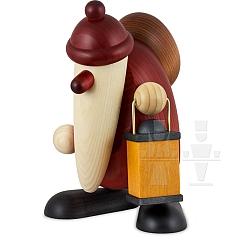 Maxi Weihnachtsmann mit Laterne