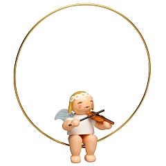 Christbaumengel im Ring mit Geige