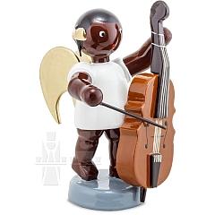 Afrikaner Engel mit Kontrabass 6 cm
