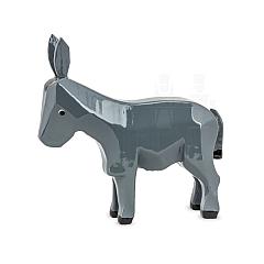 Esel stehend lackiert für 7 cm Krippenfiguren