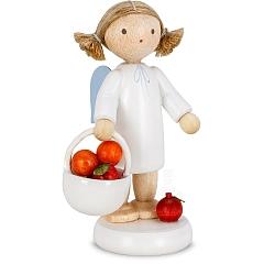Engel mit Apfelkorb