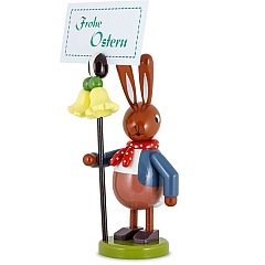 Easter Bunny with Flower 16 cm