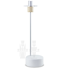 Candlestick small white