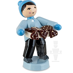 Boy with Gingerbread Belly Shop blue from Ulmik