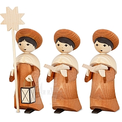 Carolers rosewood stained 13 cm