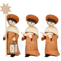 Carolers rosewood stained 22 cm