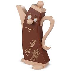 Räucherfigur Modern Chocolate Kanne