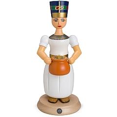 Räucherfigur groß Nofretete altägyptische königliche Gemahlin