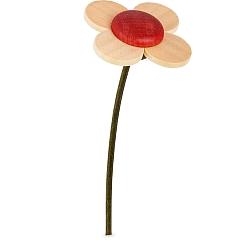 Blume natur-rot