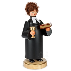 Räucherfrau Pfarrerin