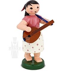 Mädchen mit Mandoline
