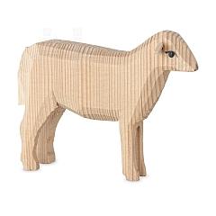 Schaf stehend natur für 22 cm Figuren