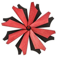 Ersatzflügelrad Schwarz-Rot nur für Ulmik Pyramiden