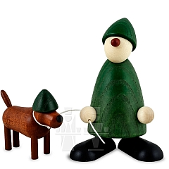 Gratulant Emil grün mit Waldi